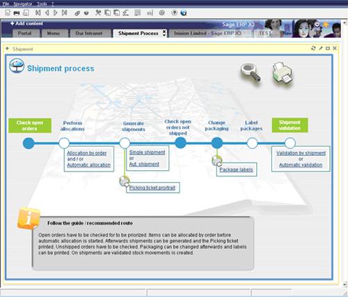 Exampl Erp Site Map: Streamline Operations